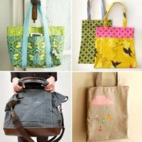 How to sew a tote bag   How About Orange
