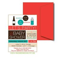 Co Ed Baby Shower Beer Bottle To Baby Bottle by grassgreendesign,