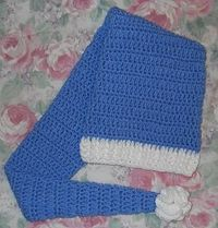 Crochet Great Lengths Stocking Cap - Free Pattern