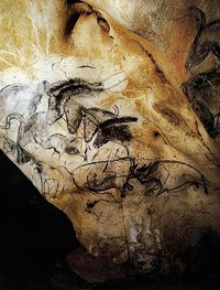 Perfectly preserved 30,000 year old cave painting in France. Pretty amazing.