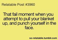 Blanket face punch