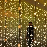 Submergence, a light installation by digital arts collective Squidsoup
