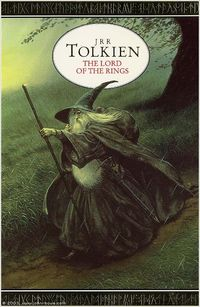 The Lord of the Rings: artwork by John Howe on this cover.