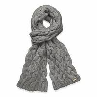++ braided cable scarf. $200. Are you kidding me.