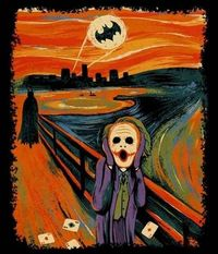 One of best versions of this scream picture