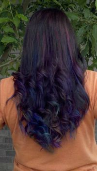 dark-brown-hair-with-purple-blue