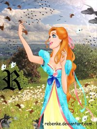 Giselle and her friends by ~rebenke