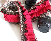 Cute DSLR padded camera strap cover by SnugglensCameraStrap!