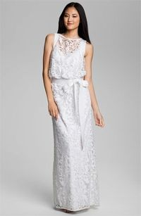 25f2f8e2dbe Tadashi Shoji Embroidered Lace Blouson Gown available at  Nordstrom