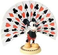 Thru the Mirror - Mickey Mouse - Playing Card Plumage - Walt Disney Classics Collection - World-Wide-Art.com - $125.00 #WDCC #Disney