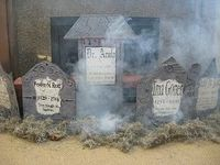 How to make Tombstones out of Foamboard One Tiny Moment