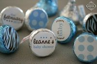 Printable Baby Shower Candy Stickers