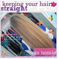 keeping your hair STRAiGHT