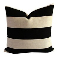 I pinned this Stripe Pillow from the Kim Salmela event at Joss and Main!