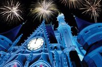 New Year's Eve at Disney World. Wow.