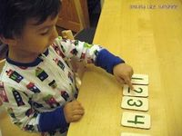 #Montessori inspired activities for my 27 month old #ece