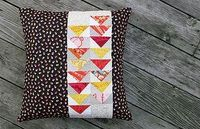 A Friend for my Autumn Star Pillow by Fresh Lemons
