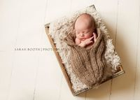 Knit Baby Cocoon Baby Pod
