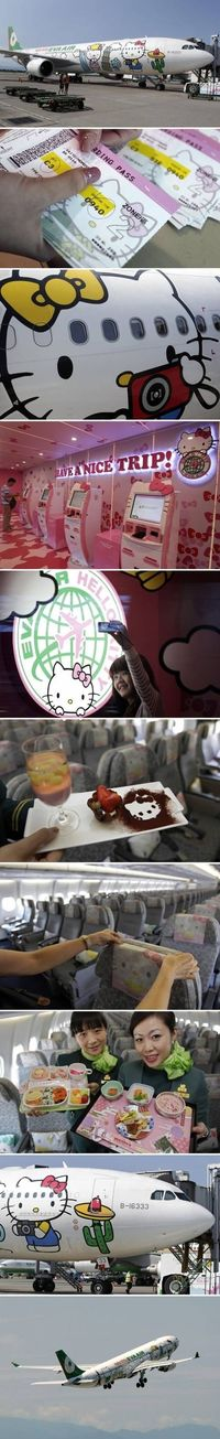 Hello Kitty Airlines meme lol memes