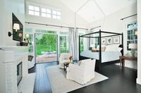 master bedroom...love the bed