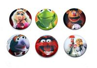 One inch Pinback Buttons inspired by the Muppets by maukDesigns, $3.99