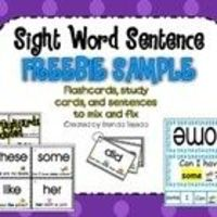 Classroom-Tested and Kid-Approved!A fun, effective way to practice sight words! This freebie includes flashcards and trace