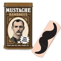 I mustache how you got that wound..