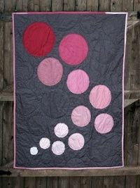Cute and simple baby quilt idea