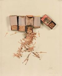 Boîtes D'Allumettes mixed media by César Baldaccini, 1970