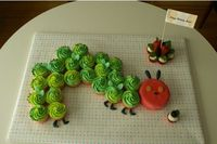 Hungry Caterpillar Cupcake