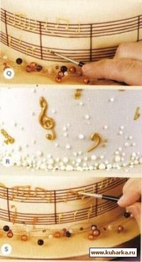 how to decorate a cake muses