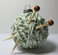 knitter ornament