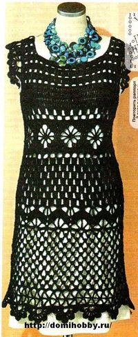 Summer dress crochet