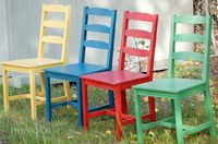 rainbow-chairs for Maggie