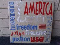 4th of July subway art