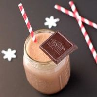 "DIY Chocolate ""Muscle Milk"" - low carb, high protein, and made without the 40 random ingredients!"